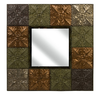 12850 – Flamenco Medallion Tile Mirror