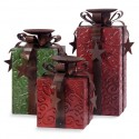 Yule Love It Candleholders - Set of 3 - 57912-3