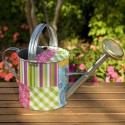 County Fair Patchwork Watering Can - 44140