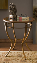 Macrae Mirror Top Side Table - 87286