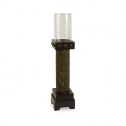 CKI Appolonia Medium Candle with Glass Hurricane