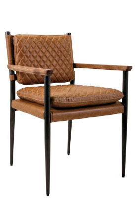 91501 NK Nobility Top Grain Leather Chair
