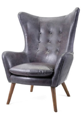 91506 NK Marco Top Grain Leather Chair