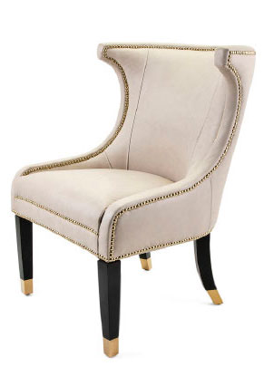 91508 NK Radcliff Top Grain Leather Accent Chair