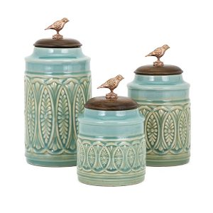 95805-3 TY Songbird Canisters - Set of 3