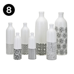 15625-7 Mavis Ceramic Bottles – Set of 7