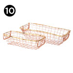 17064-2 Whitby Metal Baskets – Set of 2