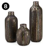 26377-3 Isadora Vases – Set of 3