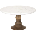82504 Lissa Marble Cake Stand | Foodsafe