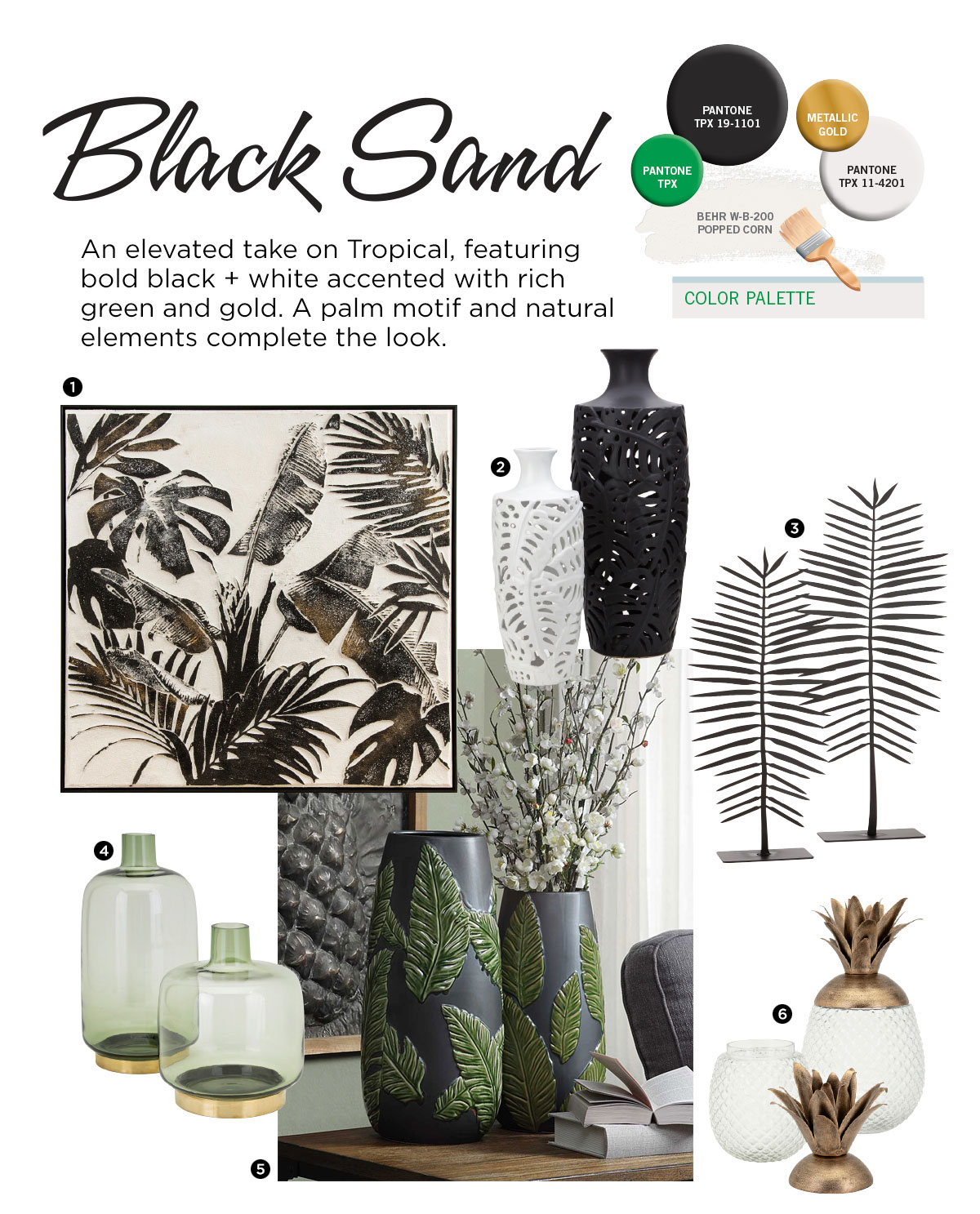 Black Sand trend from IMAX Worldwide Home