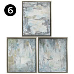 A0314919 Genevere Framed Oil Painting – Ast 3