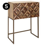 17095 Shiloh Wood Side Table