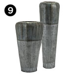 65901 and 65902 Saunders Oversized Floor Vases