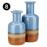 10370-2 Adobe Vases – Set of 2