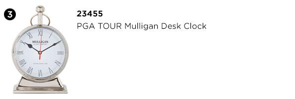 PGA TOUR Mulligan Desk Clock
