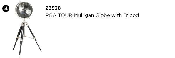 PGA TOUR Mulligan Globe with Tripod