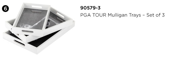 PGA TOUR Mulligan Trays - Set of 3