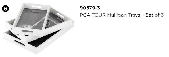 PGA TOUR Mulligan Trays - Set of 3