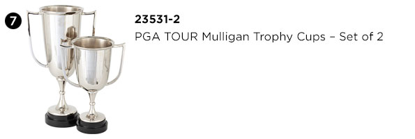 PGA TOUR Mulligan Trophy Cups - Set of 2