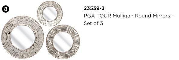PGA TOUR Mulligan Round Mirrors - Set of 3