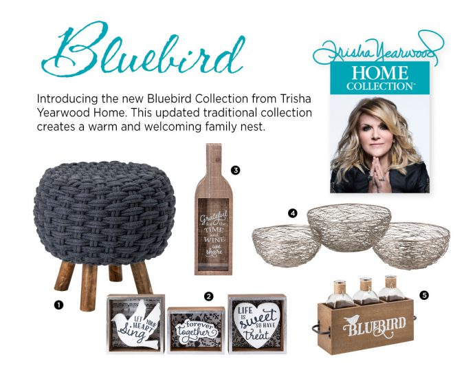 Trisha Yearwood Bluebird Collection from IMAX Worldwide Home